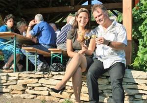 auch die Weinkönigin 2011/2012 war bei uns