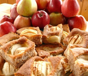 rezept versunkener apfelkuchen - foto: katrin hut
