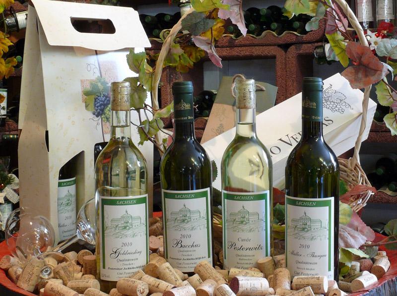 Weißwein - Gut Pesterwitz bei Dresden