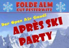 Party auf der Folde Alm