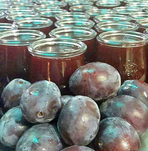 Pflaumen-Fruchtaufstrich hausgemacht