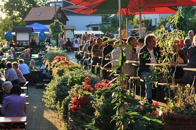 Weinfest zum Erntedank in Pesterwitz